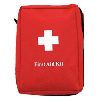 Botiquin Primeros Auxilios de Campaña Camping Kit Medical Supervivencia, Rojo