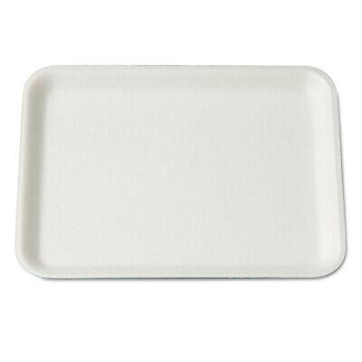 Genpak 4swh 125bag 9-14 X 7-14 X 12 Foam Supermarket Tray - White New