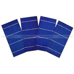 20pcs 3x6 Solar Cells for DIY 40W Solar Panel High Power Charger Gift