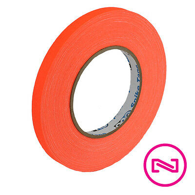 Protapes Pro Gaff Neon Orange Gaffers Spike Tape 12 X 45 Yd Roll