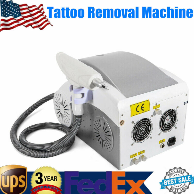 110V Pigment Eyebrow Tattoo Removal Yag Laser Face Whitening Machine Skin Care