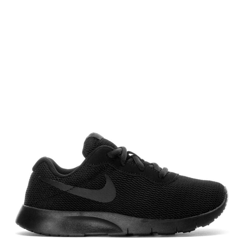 quality design c26de ac093 ... Nike-Tanjun-PS-Black-Black-818382-001-Youth- Nike Tanjun Grade School  Kids  Athletic Shoes ...