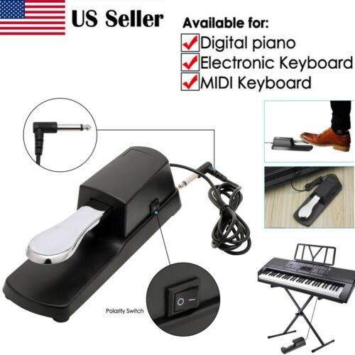 USA Damper Sustain Pedal Foot Switch For Electronic Yamaha C