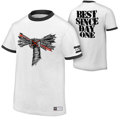 WWE AUTHENTIC CM Punk Best Since Day One White T-shirt - BRAND