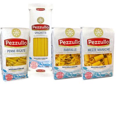 12,80 € per 4 Pacchi Pasta Pezzullo Da 500g Spaghetti Farfalle Penne Mezze Maniche - Offerta su eBay.it