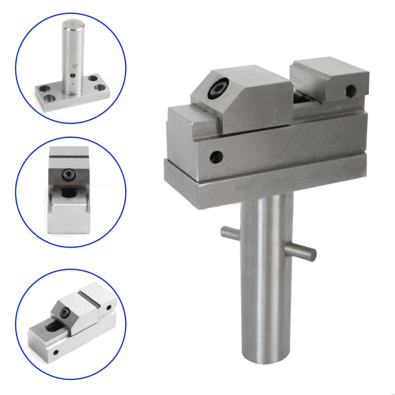 Manual Electrode EDM Vise Electric Discharge Machining Clamping Vice 1""