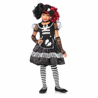 Doll Halloween Costumes For Girls (Girls Rebel Rag Doll Halloween Costume -)