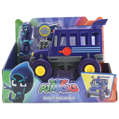 PJ Masks Night Ninja Bus with Night Ninja Figure - JPL95164 (Night Ninja)