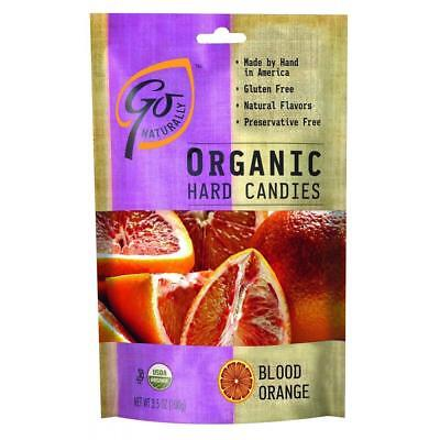 Candy Blood Bags (Go Organic-Blood Orange Hard Candy, Pack of 6 ( 3.5 oz bags)