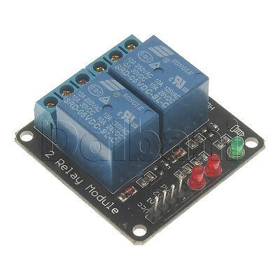 5v 2 Channel Relay Shield Module Arduino Compatible