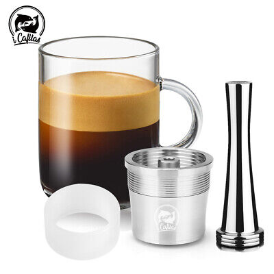 i Cafilas Stainless Coffee Capsules Filter Pod For Illy IperEspresso Y3 X8 X9
