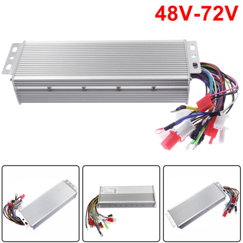 48-72V Electric Bicycle E-bike Scooter Brushless DC Motor Speed Controller Great