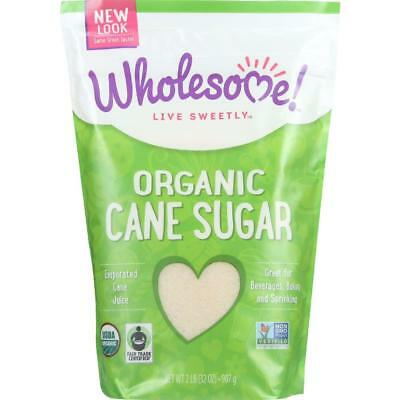 Wholesome!-Evaporated Cane Sugar (12-32 oz bags)