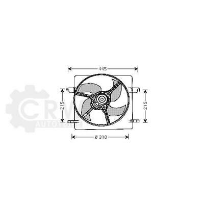 Fan Engine Cooling Radiator Fan Ford Ka RB
