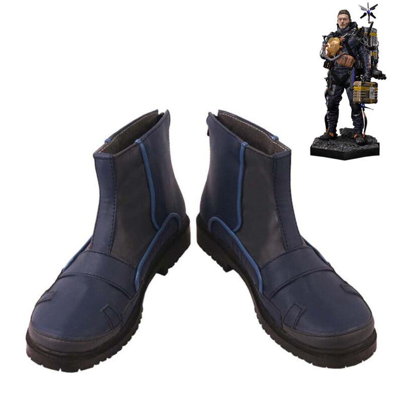 Death Stranding Sam Bridges Shoes Cosplay Men Boots