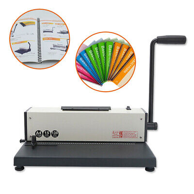 Electric Plastic Spiral Coil Insert Binding Machine Binder Calendar Notebook