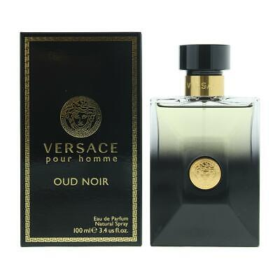 Versace Pour Homme Oud Noir Eau de Parfum 100ml Spray Men's - NEW. EDP - For Him