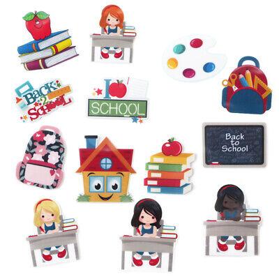 5 Pcs Back to School Acrylic Flatback Planar Resin DIY Craft Scrapbooking  Decor](Back To School Decorations)
