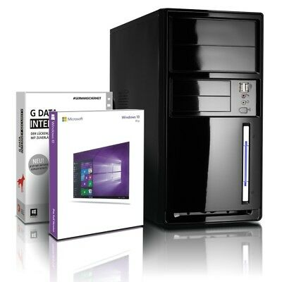 PC System Computer AMD Quad Core 4x1.5GHz 4GB USB3.0 Windows A4 Rechner