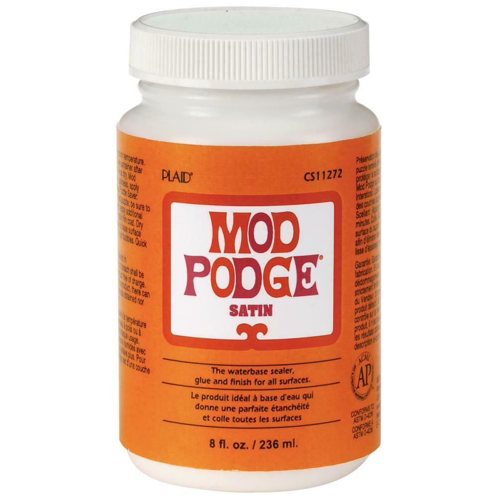 Mod Podge All-In-One Glue/Sealer Medium - Satin Finish (236ml or 473ml)