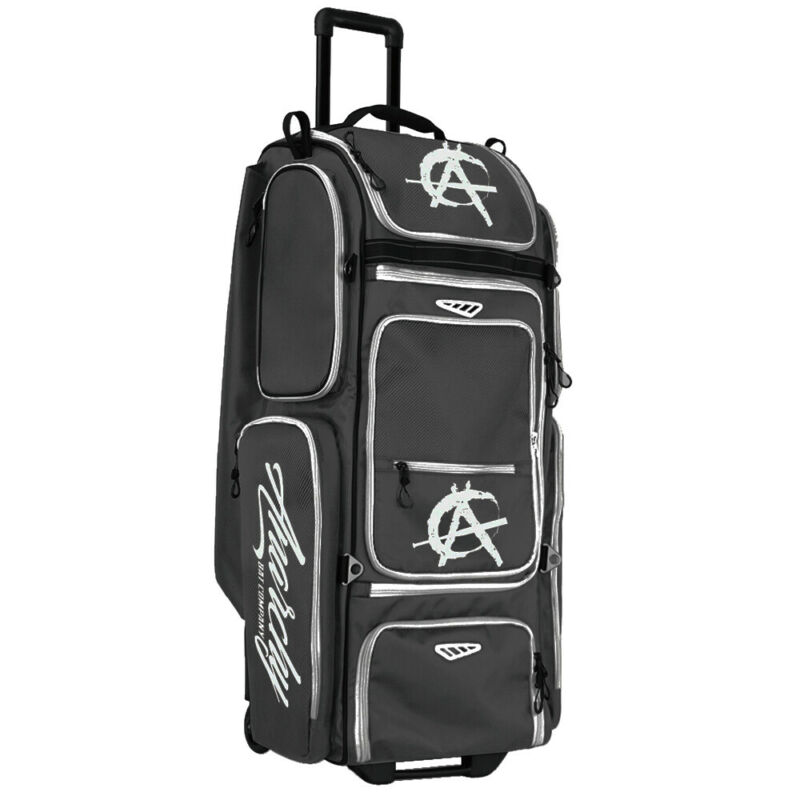 SMASH OPS V2 GUERRILLA Anarchy Edition Roller Bag (Charcoal/White)