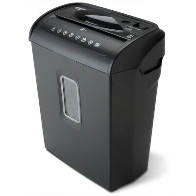 The Aurora Au608mb 6-sheet Micro-cut Paper Credit Card Shredder