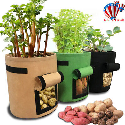 DIY Vegetable Planting Bags Grow Bag Potato Cultivation Garden Pot Planters USA