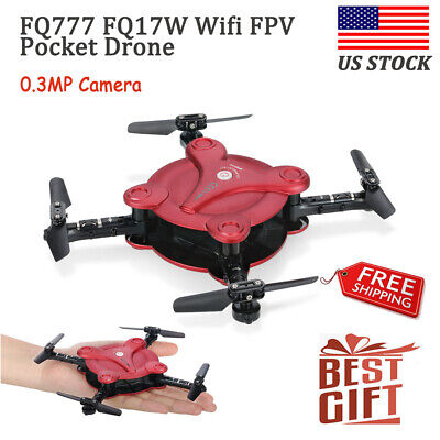 FQ777 FQ17W Wifi FPV 0.3MP Camera Drone Altitude Hold Mini RC Quadcopter O6D0