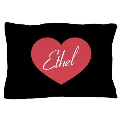 CafePress I Love Lucy Ethel Heart Standard Size Pillow Case,