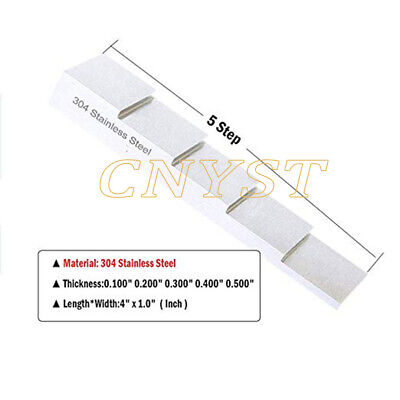 2.5//5//10//15//20mm Round Calibration Block for Ultrasonic Thickness Gauge Meter