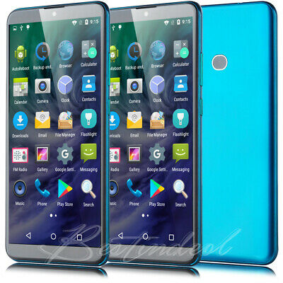 6 Inch Large Screen Smartphone Android 8.1 Quad Core 2SIM Unlocked Mobile...