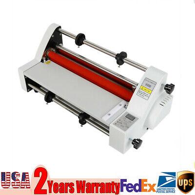 13 350mm Hot Cold Roll Laminator Hot And Cold Roll Laminating Machine 110v V350