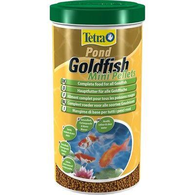 Tetra Pond Goldfish Mini Pellets  1L  350G Fish Food Aquarium Coldwater