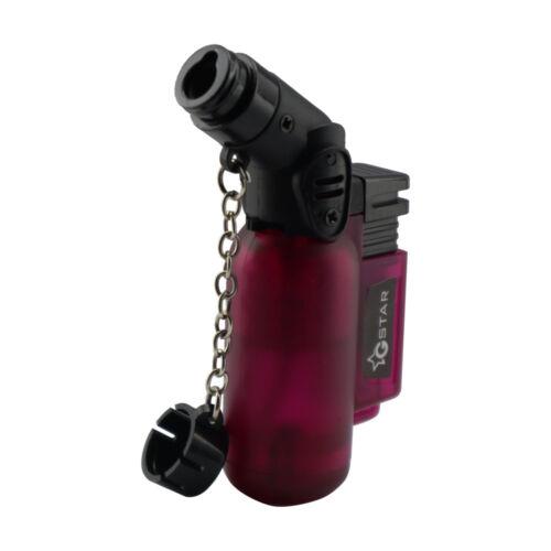 GStar Single Jet Flame Butane Cigarette Cigar Torch Lighter – Purple
