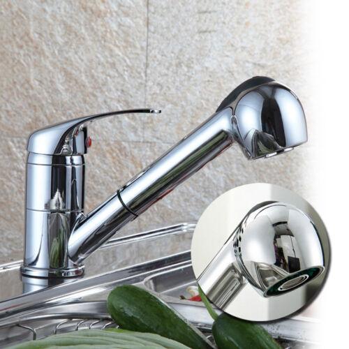 Spültischarmatur Küchenarmatur Einhebelmischer Wasserhahn mit ausziehbar Brause