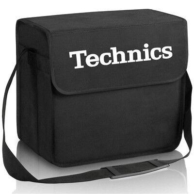 TECHNICS DJ BAG (nero / black) borsa bag x contenere trasportare 60 vinili