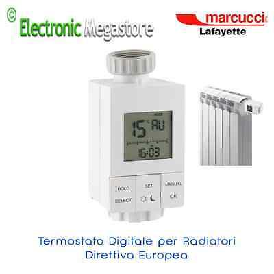 TERMOSTATO DA RADIATORE SETTIMANALE LAFAYETTE VTR-7