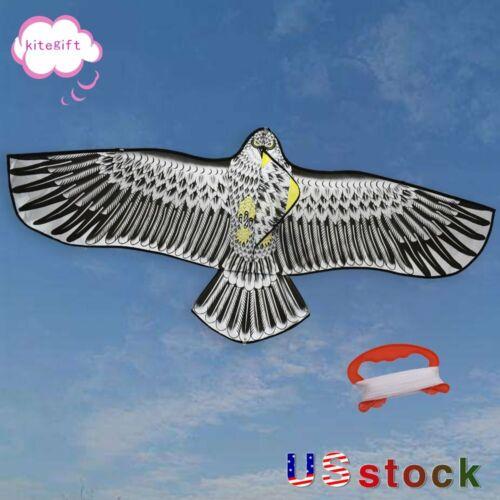 NEW Huge 60-Inch Eagle Kite Single Line Novelty Animal Kites