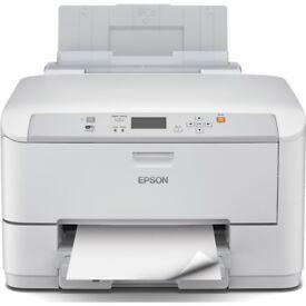 Epson WorkForce Pro WF-5110DW (A4) Wireless Colour Inkjet Printer 5.6cm Mono LCD - Selling as New