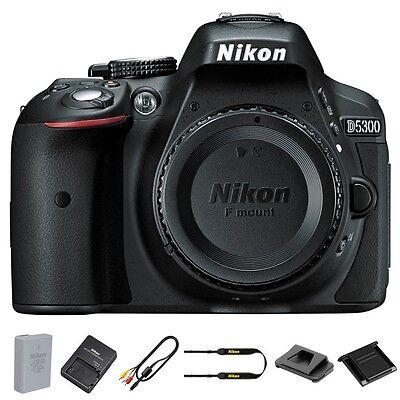 Nikon D5300 24.2MP Digital SLR Camera - Ban (Body) Brand New