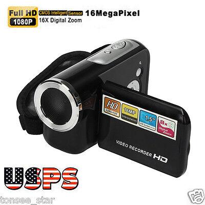 Fhd 1080P 16M 16X Tpt Lcd Digital Zoom Video Recorder Camcorder Camera Dv Cam