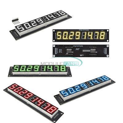 0.568-digit Led Display 74hc595 7-segment Tube Module Redyellowgreenblue