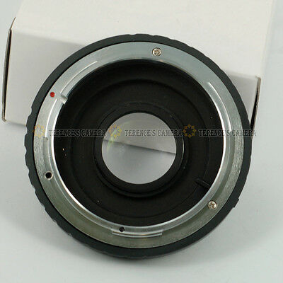 For CANON FD Lens to Nikon SLR Body Mount Adapter Ring Infinity focus with (Canon Fd Lens To Nikon Body Mount Adapter)
