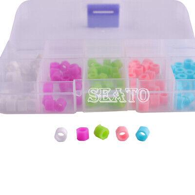Dental Hygienist Instrument Mix Color Code Rings 100 Pcs Autoclavable