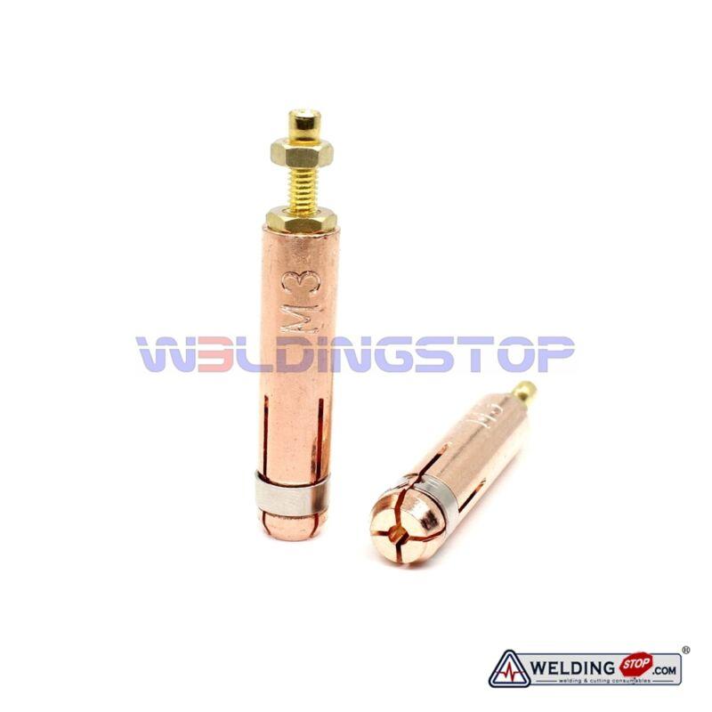WS Original M3 Collet for Capacitor Discharge CD Stud Welding Stud Gun 2pcs