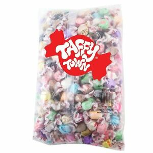 Taffy Town Old Fashion Assorted Salt Water Taffy 2 Lbs 907g Made in USA Nut Free