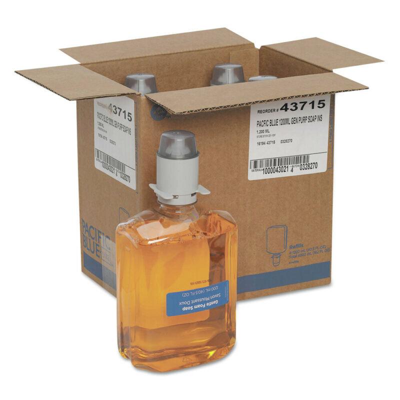 Georgia Pacific Commercial 43715 4-Pc. Citrus Foam Soap Manual Refills New