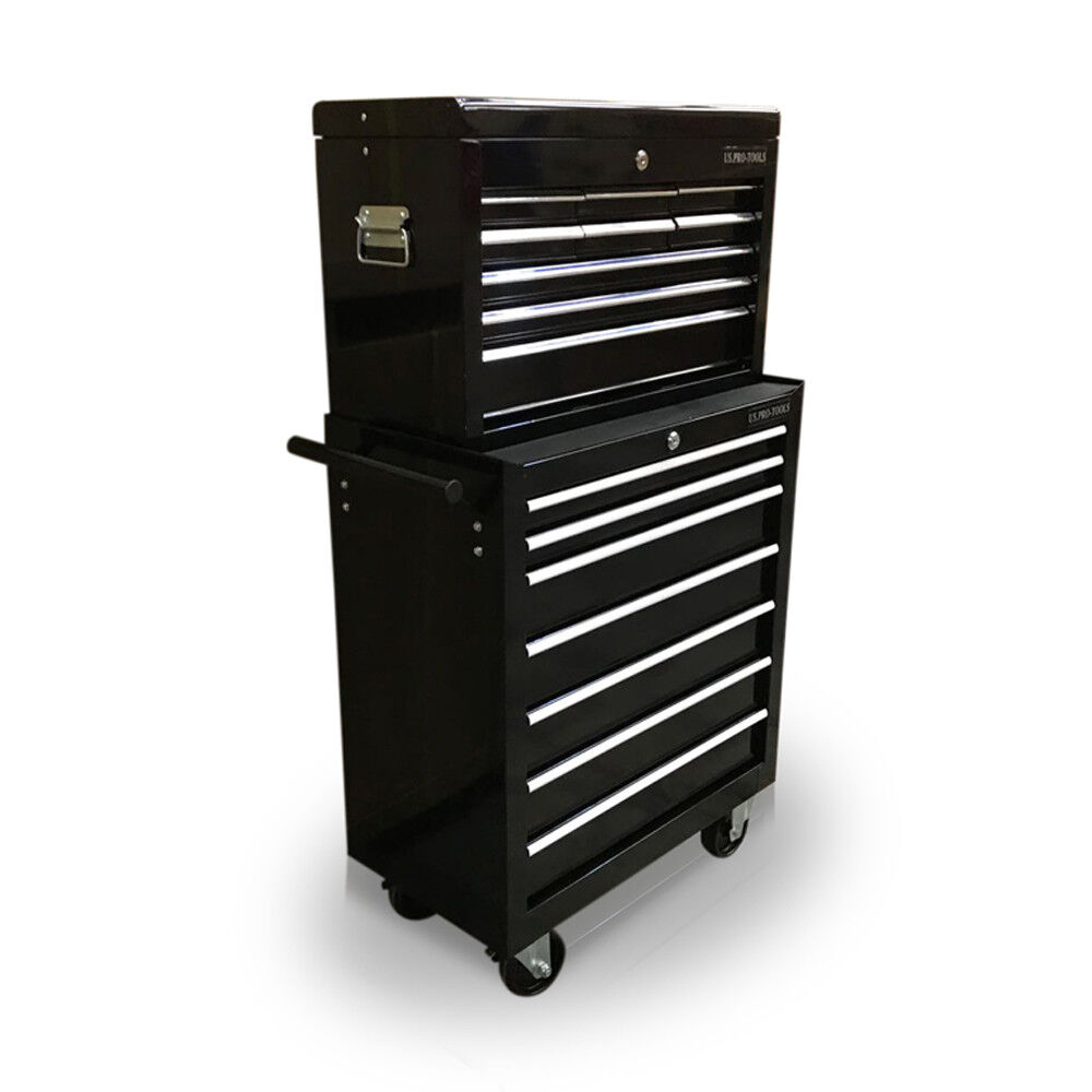 428 tool box roller cabinet steel chest 16 drawers gloss. Black Bedroom Furniture Sets. Home Design Ideas