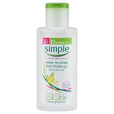 Simple Kind to Eyes EYE Make-Up Remover 125 ml *NEW* *FREE POSTAGE*