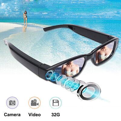 HD 1080P Camera Glasses Spy Hidden Eyewear DVR Video Recorder Cam Camcorder US